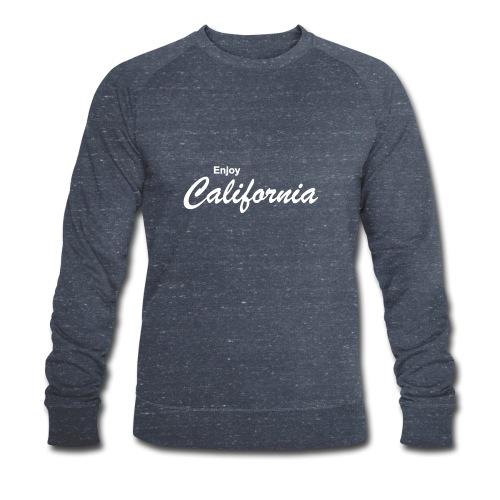 Enjoy California - Männer Bio-Sweatshirt von Stanley & Stella
