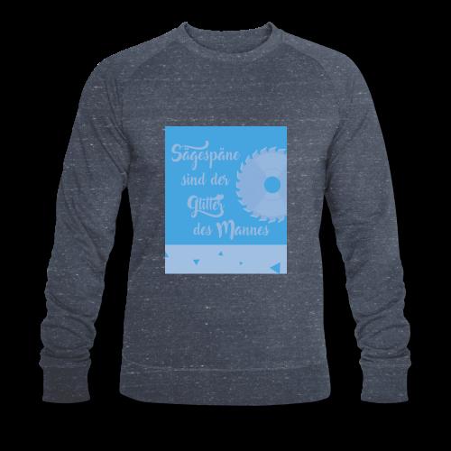 Sägespäne Slogan - Glitter - Mann - Männer Motiv - Männer Bio-Sweatshirt von Stanley & Stella
