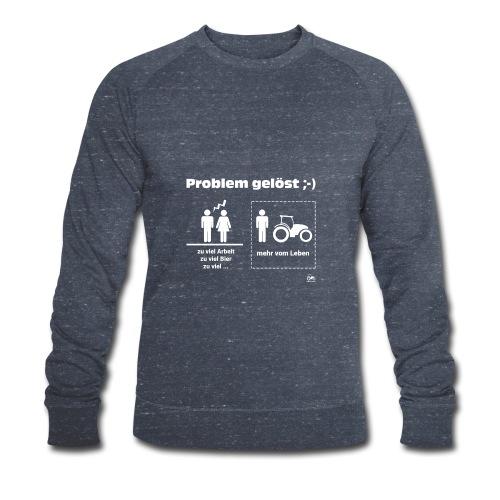 Problem gelöst - Männer Bio-Sweatshirt