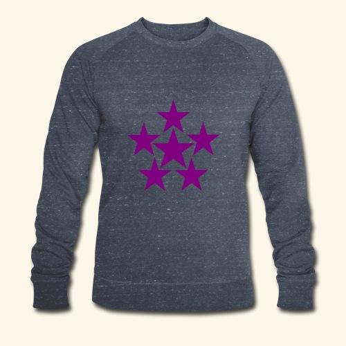 5 STAR lilla - Männer Bio-Sweatshirt von Stanley & Stella
