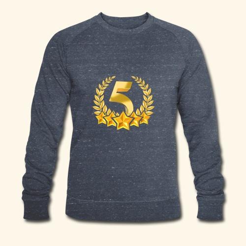 Fünf-Stern 5 sterne - Männer Bio-Sweatshirt von Stanley & Stella