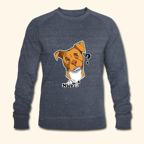 Nice Dogs pitbull 2 - Felpa ecologica da uomo di Stanley & Stella