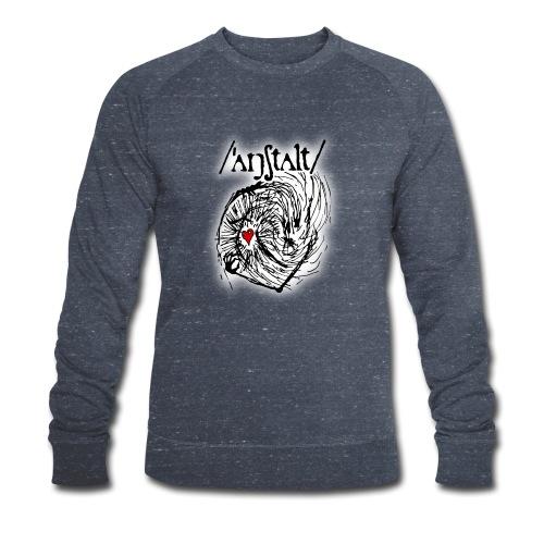 wesen mit herz und logo - Männer Bio-Sweatshirt von Stanley & Stella