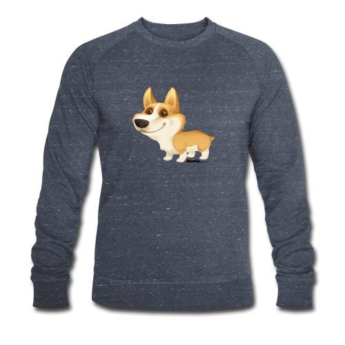 Corgi - Økologisk sweatshirt for menn fra Stanley & Stella