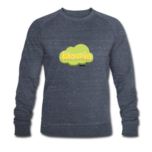 Momio-logo - Økologisk sweatshirt for menn fra Stanley & Stella