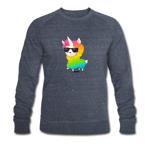 Regenbogenanimation - Männer Bio-Sweatshirt von Stanley & Stella