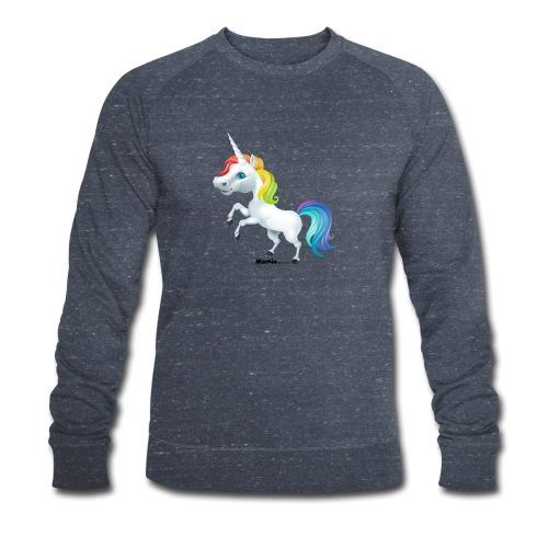 Rainbow enhjørning - Økologisk sweatshirt for menn fra Stanley & Stella