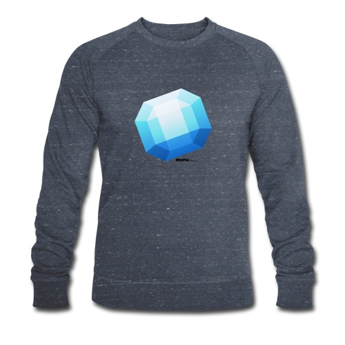 Saphir - Männer Bio-Sweatshirt