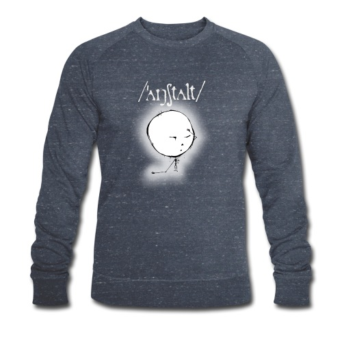 kreisling mit logo (weiß) - Männer Bio-Sweatshirt von Stanley & Stella