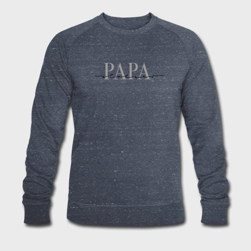 Stolzer Papa – Papa Kollektion - Männer Bio-Sweatshirt von Stanley & Stella