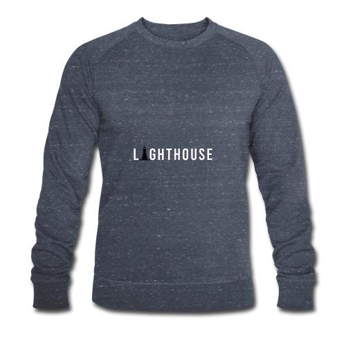 Lighthouse Logo - Männer Bio-Sweatshirt