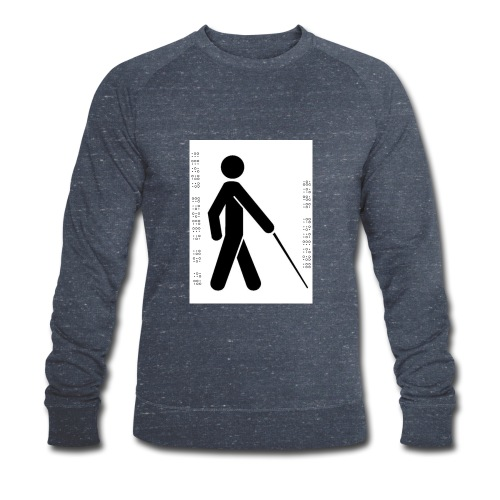 Blind T-Shirt - Men's Organic Sweatshirt by Stanley & Stella