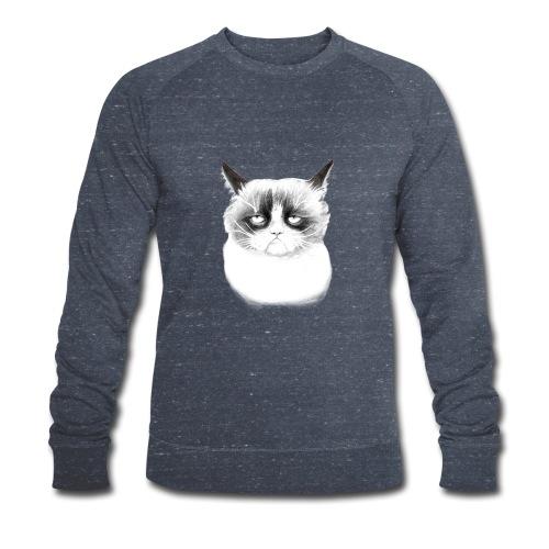 Grumpy Cat - Men's Organic Sweatshirt by Stanley & Stella