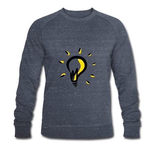 Geistesblitz - Männer Bio-Sweatshirt von Stanley & Stella