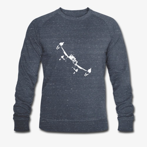 quadflyby2 - Men's Organic Sweatshirt