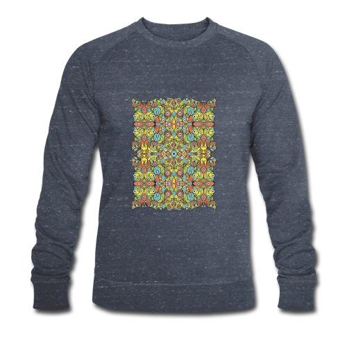 Weird creatures multiplying infinitely - Men's Organic Sweatshirt by Stanley & Stella