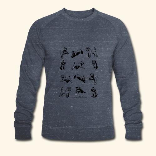 Brussels Griffon pattern - Sweat-shirt bio Stanley & Stella Homme
