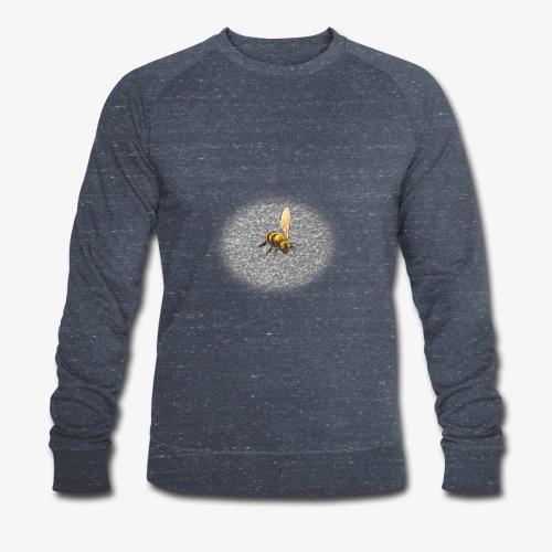 biene mit steienen - Männer Bio-Sweatshirt