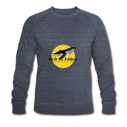 Welt zu Füßen Logo - Männer Bio-Sweatshirt von Stanley & Stella