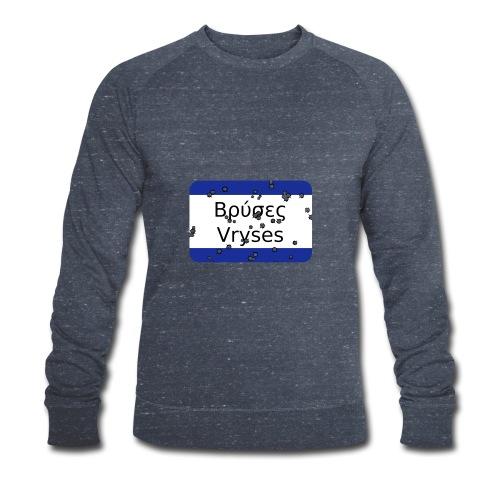 mg vryses - Männer Bio-Sweatshirt