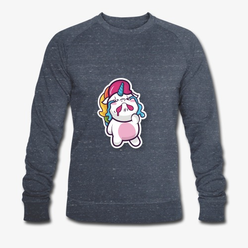 Funny Unicorn - Men's Organic Sweatshirt by Stanley & Stella