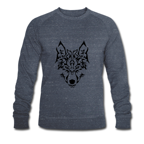 Tribal Wolf - Sweat-shirt bio Stanley & Stella Homme