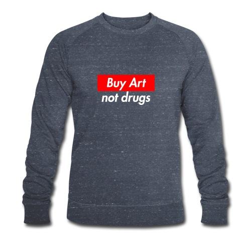 Buy Art Not Drugs - Stanley & Stellan miesten luomucollegepaita