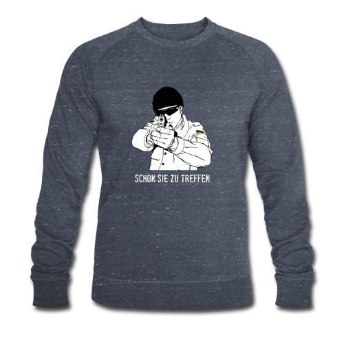 schön sie zu treffen w - Männer Bio-Sweatshirt von Stanley & Stella