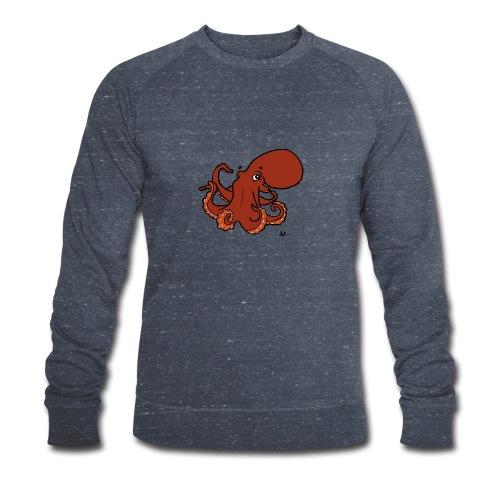 Giant Pacific Octopus - Økologisk sweatshirt for menn fra Stanley & Stella