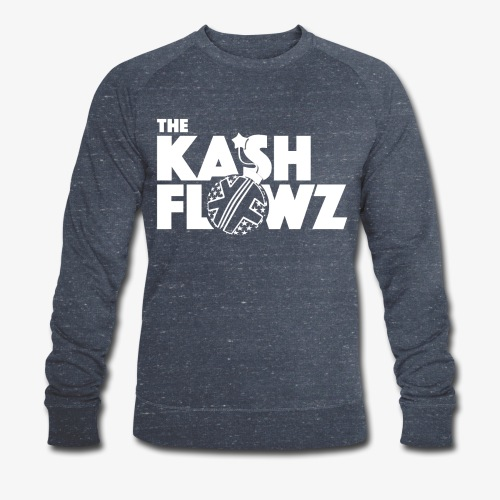 The Kash Flowz Official Bomb White - Sweat-shirt bio Stanley & Stella Homme