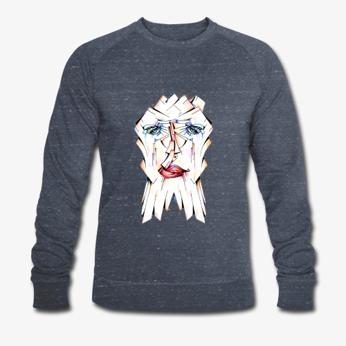 Pokerface - Men's Organic Sweatshirt