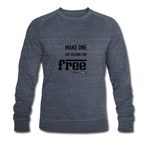 TWINS. make one get second for free - Männer Bio-Sweatshirt von Stanley & Stella
