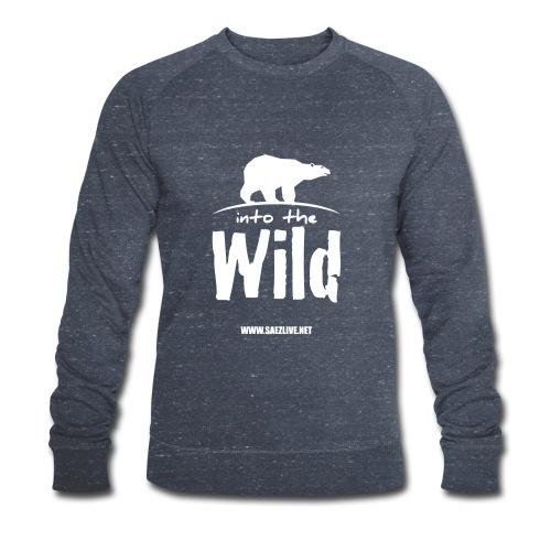 Into the wild (version light) - Sweat-shirt bio Stanley & Stella Homme
