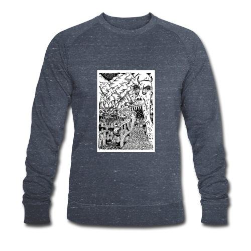 Sea Monsters T-Shirt by Backhouse - Men's Organic Sweatshirt by Stanley & Stella