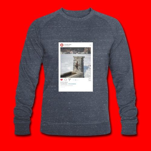 travelsuisse - Brunnen Trin - Männer Bio-Sweatshirt von Stanley & Stella