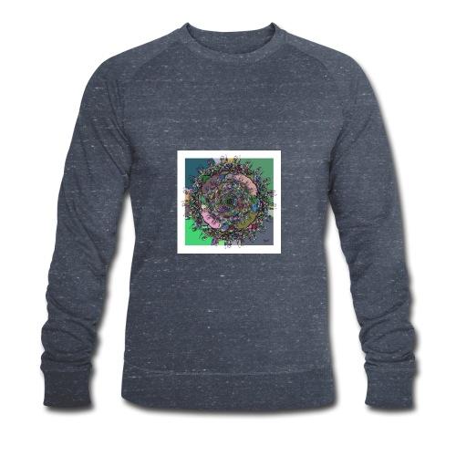 WorldAround 150220 ds. A + - Men's Organic Sweatshirt by Stanley & Stella