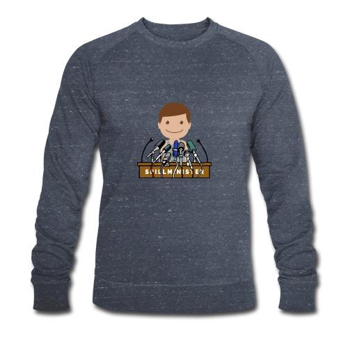 Spillminister logoen - Økologisk sweatshirt for menn fra Stanley & Stella