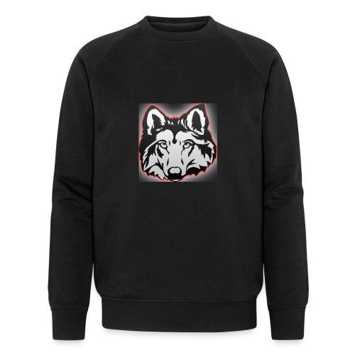 Wolfie (Red) - Men's Organic Sweatshirt by Stanley & Stella