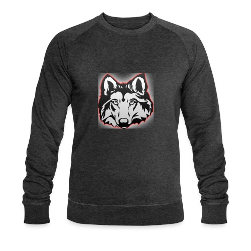 Wolfie (Red) - Men's Organic Sweatshirt by Stanley & Stella
