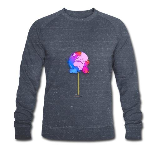 TShirt lollipop world - Sweat-shirt bio Stanley & Stella Homme