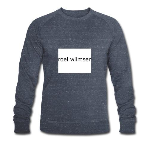 roel doet youtube - Mannen bio sweatshirt van Stanley & Stella