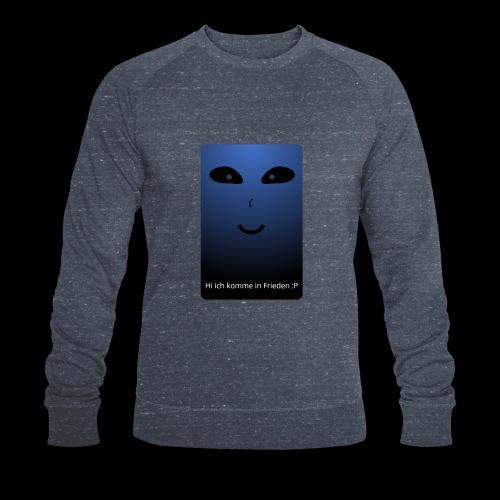 Frieden - Männer Bio-Sweatshirt
