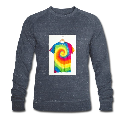 tie die small merch - Men's Organic Sweatshirt by Stanley & Stella