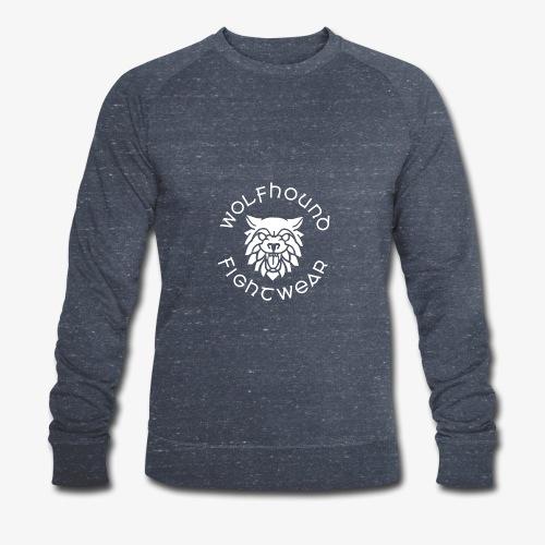 logo round w - Men's Organic Sweatshirt