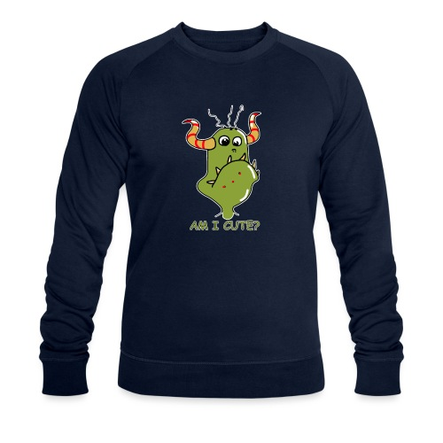Cute monster - Men's Organic Sweatshirt by Stanley & Stella