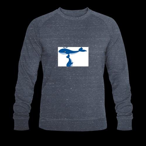 whale t - Men's Organic Sweatshirt by Stanley & Stella