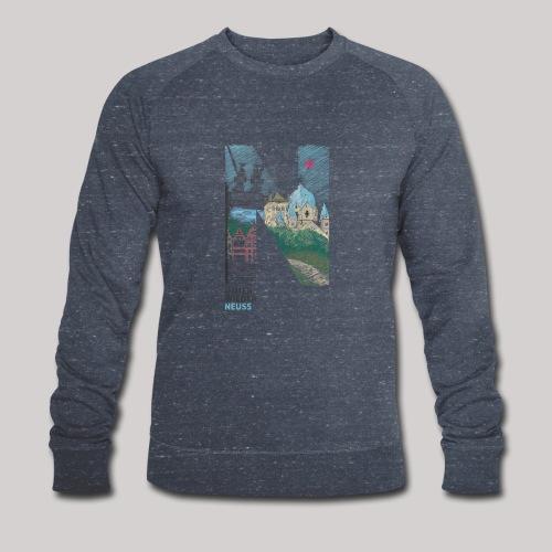 Immer wieder Neuss - Männer Bio-Sweatshirt
