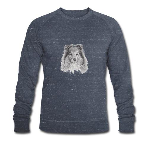 shetland sheepdog sheltie - Økologisk Stanley & Stella sweatshirt til herrer