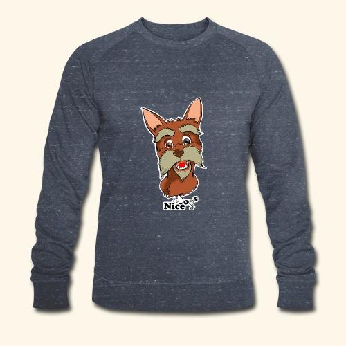 Nice Dogs schnauzer 2 - Felpa ecologica da uomo di Stanley & Stella