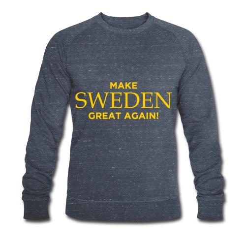 Make Sweden Great Again! - Ekologisk sweatshirt herr